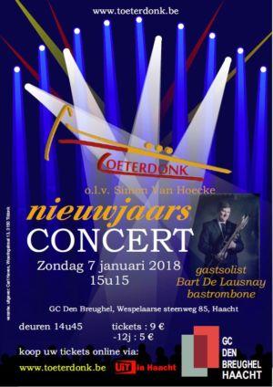 Nieuwjaarsconcert 2018 Affiche