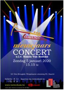 Nieuwjaarsconcert @ GC Den Breughel | Haacht | Vlaanderen | België