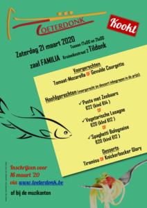 Toeterdonk Kookt @ Zaal Familia   Haacht   Vlaanderen   België