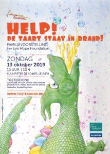 Benefietconcert - Help! De taart staat in brand! @ Rector Pieter De Somer-Aula | Leuven | Vlaanderen | België